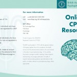 BAP Online CPD Resource leaflet
