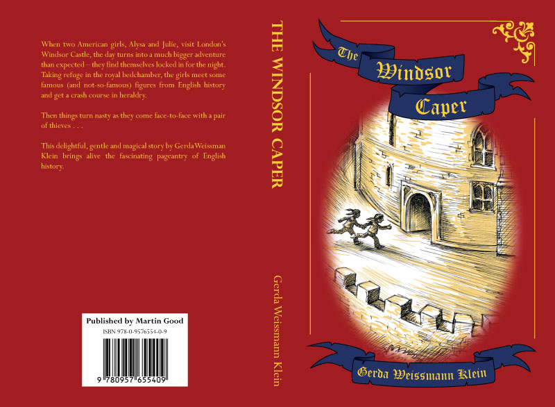 The Windsor Caper Cover Design